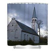 Sigulda Church Shower Curtain
