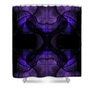 Silence Shower Curtain by Christopher Gaston