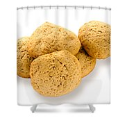 Simple Homemade Cookies Shower Curtain