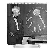 Sir Alexander Fleming Shower Curtain