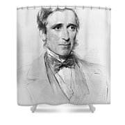 Sir James Paget (1814-1899) Shower Curtain