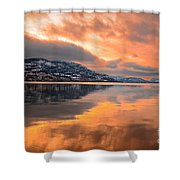 Skaha Serenity Shower Curtain