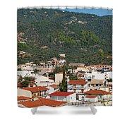 Skiathos Island Greece Shower Curtain
