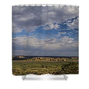 Sky City Shower Curtain