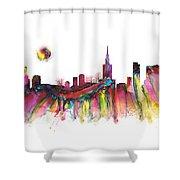 Skyline Warsaw Shower Curtain