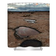 Slickrock In Arches National Park Shower Curtain