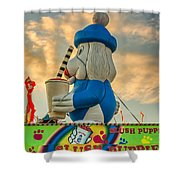 Slush Puppie Shower Curtain