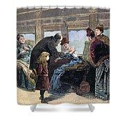 Smallpox Vaccination, 1885 Shower Curtain