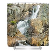 Smalls Falls In Western Maine Shower Curtain