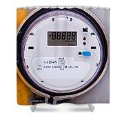 Smart Grid Residential Digital Power Supply Meter Shower Curtain