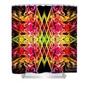 Smoke Art 143 Shower Curtain