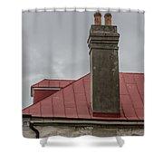 Smoke Stack Shower Curtain