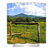 Smoky Mountain Shower Curtain