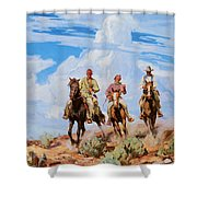 Sons Of The Desert Shower Curtain