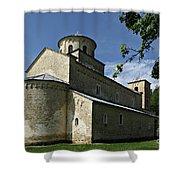 Sopocani Monastery Shower Curtain