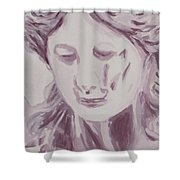 Sorrow - Triptych Panel 1 Shower Curtain