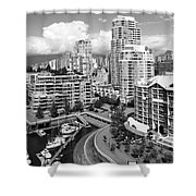 South Vancouver Bc Canada Shower Curtain