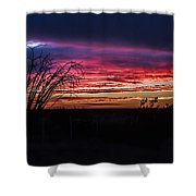 Southwest Sunset Shower Curtain