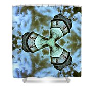 Space Station Shower Curtain
