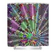 Sparkle Focus Graphic Chakra Mandala By Navinjoshi At Fineartamerica.com Fineart Posters N Pod Gifts Shower Curtain