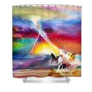 Spirit Breath Shower Curtain