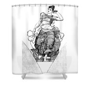 Spirit Of Progress Shower Curtain