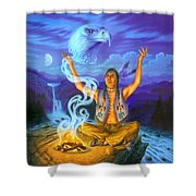 Spirit Of The Eagle Shower Curtain
