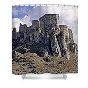 Spissky Hrad Castle Shower Curtain