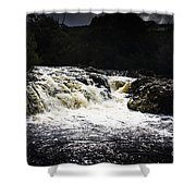 Splashing Australian Water Stream Or Waterfall Shower Curtain