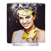 Spring Carnival Beauty Shower Curtain