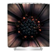 Spring Darkness Shower Curtain