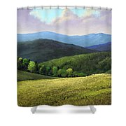 Spring Hills Shower Curtain