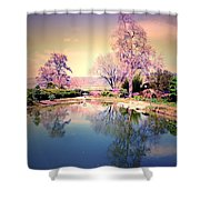 Spring In The Gardens Shower Curtain