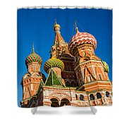 St. Basil's Cathedral - Square Shower Curtain