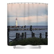 St. Ignace Light Shower Curtain