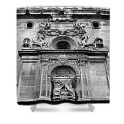 St Jeronimo Door Granada Cathedral Shower Curtain