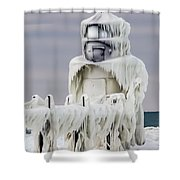 St. Joseph Pierhead Light Shower Curtain