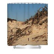 St Joseph Sand Dunes Shower Curtain