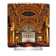 St. Leonard's Church....boston Shower Curtain
