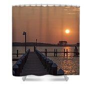 St Marys County Maryland Sunrise Shower Curtain