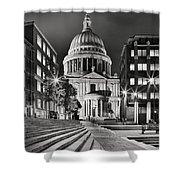 St Paul's London Shower Curtain