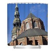 St. Peter's Church Riga Shower Curtain