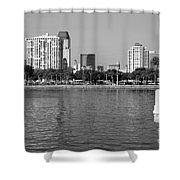 St Petersburg Skyline Shower Curtain