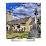 St Sannans Church Bedwellty 2 Shower Curtain