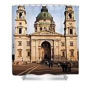 St Stephen's Basilica In Budapest Shower Curtain