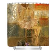 Stage Left Shower Curtain
