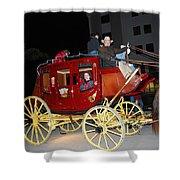 Stagecoach Shower Curtain