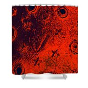 Stars And Gutters Shower Curtain