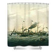 Steamship Shower Curtain
