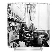 Steamship 'great Eastern Shower Curtain